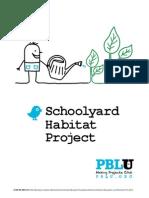 schoolyard habitat project