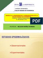Clase VI Estudios Epidemiológicos