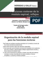 Funciones Motoras de La Medula Espinal Reflejos Medulares Cap 54