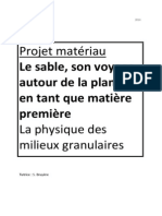 Projet Matériau IUNG LEGARREC HERMANT Tutrice Mme.BRUYERE