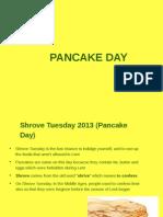 Pancake Day in UK