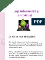 Viruși informatici și antiviruși