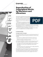 reproduction of copyrighted works by educators and librarians