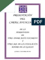 presentación cartel nazareno 2014
