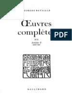 187227170 Georges Bataille Hegel La Mort Et Le Sacrifice