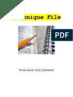 Technique File