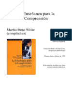 ENSEÑANZA PARA COMPRENSION.pdf