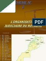 ENCG Theme4 Organization Judiciaire Du Royaume