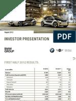 InvestorPresent August 2012