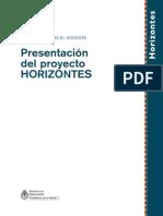 1 Presentacion Del Proyecto Horizontes