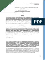 Luis Eduardo EL DESARROLLO E IMPORTANCIA DE LAS TIC Y LA APLICACIÓN DE LOS OVA EN LA EDUCACIÓN MATEMÁTICA
