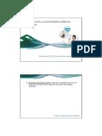 Clase 1 - Introduccion a La Informatica Medica