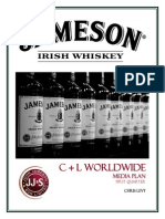 jameson irish whiskey project final
