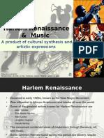 E6H Harlem Renaissance Music