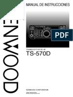 TS 570D Spanish