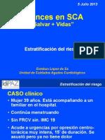 Estratificación riesgo SCA
