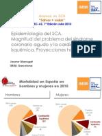 Epidcemiología del SCA