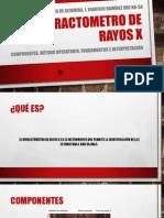 Difractometro de Rayos X (DRX)