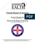 florida nurse-practice-act