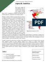 Colonización europea de América - Wikipedia, la enciclopedia libre