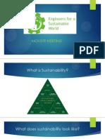 sustainability presentation