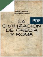 Benjamin Farrington La Civilizacion de Grecia y Roma