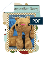 Amigurumi Demonstrative Bear Free Pattern