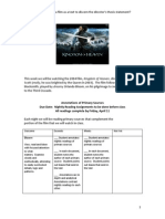 kingdom of heaven rubrics