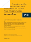 Fair Use Issues Report Caa 2014