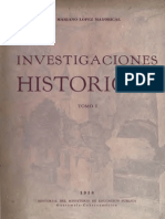 Lopez Mayorical - Investigaciones históricas  Tomo I