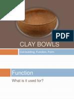 1st grade clay bowls 2