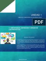 Unidad 1 EXPO Form. y Ev. de Proyectos