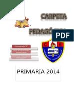 Carpeta pedagógica 2014