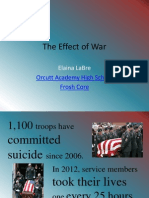 the effect of war