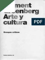 Greenberg, Clement -Arte y Cultura