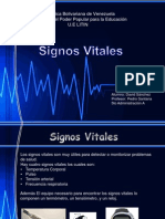 Sign Os Vital Es