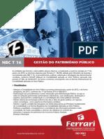 Gestão do Patrimônio Público, NBC 16 e Avaliação Patrimonial