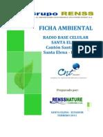 Santa Elena - Ficha Ambiental Cnt Ep