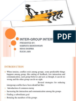 Inter Group Interventions