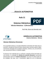 Hidraulica Automotiva Aula 11 Valvulas Hidraulicas 2