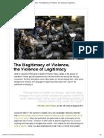Violence Legitimacy