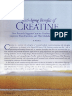 Anti-Aging Benefits of CREATINE