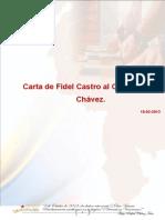 Encartado Carta de Fidel Castro al Comandante Chávez
