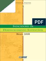 Indicadores de Desenvolvimento Sustentável 2008