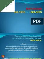 Teknik Penyusunan Rka & Dpa Skpd