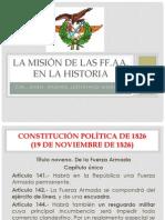 Las Misiones de Las Ff.aa. Cpe