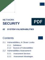 NS - 02 Vulnerabilities