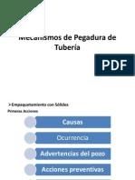 Mecanismos de Pegadura de Tubería