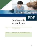 Introduccion a La Psicopedagogia