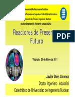 Reactores de Presente y FuturoJavier Dies